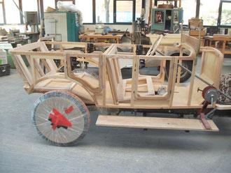 Apollo Oldtimer Stellmacher Holz Karosserie Piela