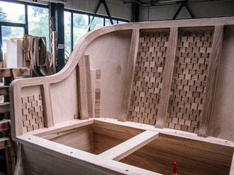 Horch Stellmacher Piela Oldtimer Holz Karosserie