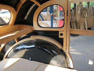 Wanderer Stellmacher Piela Oldtimer Holz Karosserie