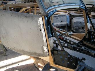 NSU-Fiat Oldtimer Stellmacher Holz Karosserie Piela
