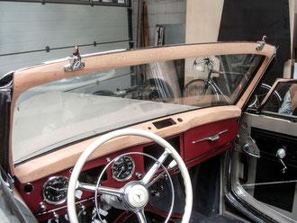 Mercedes Oldtimer Stellmacher Holz Karosserie