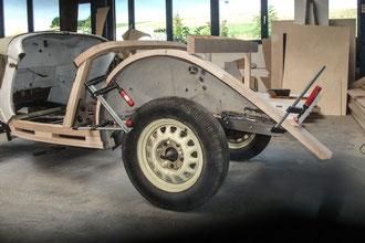 Ford Stellmacher Piela Oldtimer Holz Karosserie