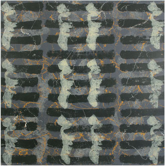 Christa Schmid - Ehrlinger , o. T. III, 2004, Acryl, 100 x 100 cm ; untitled III, 2004, acrylic, 40 x 40 inches