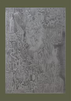 Musiker , A3 Stift Papier