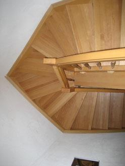 Gestemmte Treppe mit spezieller Form
