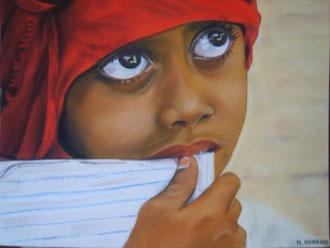 La petite fille du Yemen