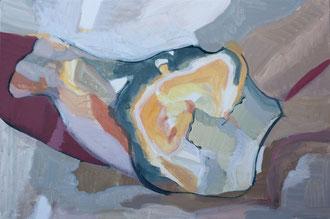 O. T. , 2012, Malerei auf Leinwand, 81 x 54 cm