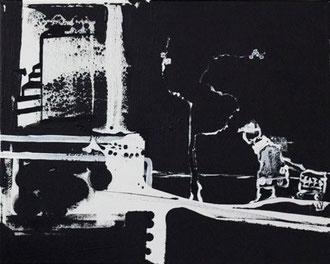 O. T. , 2012, Malerei auf Leinwand, ca. 60 x 50 cm