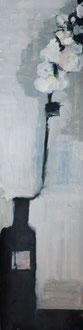 O. T. , 2012, Malerei auf Papier, ca. 22 x 86 cm