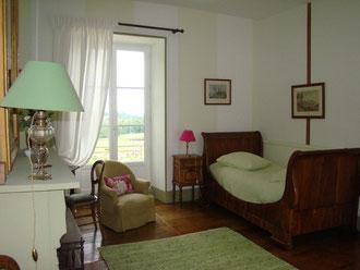 La chambre de Minane au Masbareau Chambre d'Hôtes de Charme en Limousin, proximité Saint-Léonard-de-Noblat, Limoges , Haute-Vienne, Nouvelle-Aquitaine