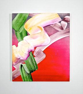 """'Tropicana', (2019) acrylic on panel. 29"""" x 24"""""""