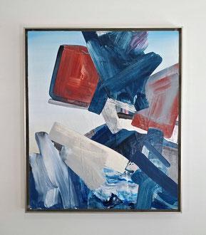 "'Angels Billabong', (2019) acrylic on panel. 29"" x 25"""