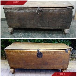 Restauración Arca Siglo XVIII
