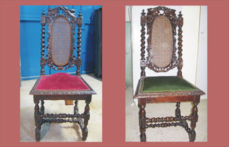 Restauración de muebles - Tapicería