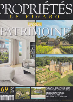 LE FIGARO PROPRIETES DE FRANCE < TABLE BASSE FLO < DECEMBRE 2019