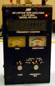 HF/VHF SWR Analyzer MFJ 259B