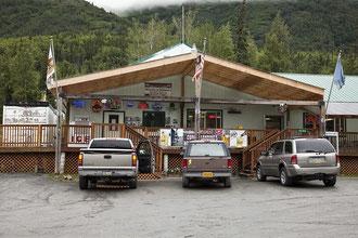 Wildman´s ist ein kleiner Supermarkt mit Imbiss.