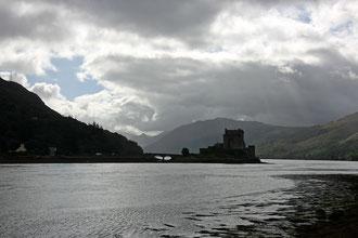 Eilean Donan Castle am Loch Duich.