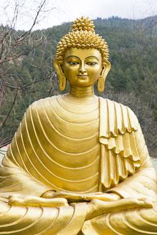 Buddhastatue im Haa-Tal