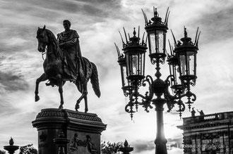 Theaterplatz - Dresden 2014 - König Johann Denkmal
