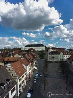 Blick vom Rathausturm in Gotha