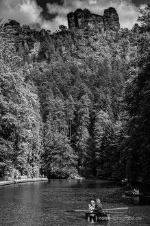Amselsee im Elbsandsteingebirge / Sächsische Schweiz