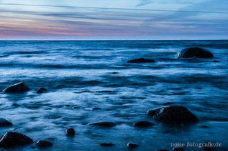 Meeresblick am Strand von Lohme / Rügen