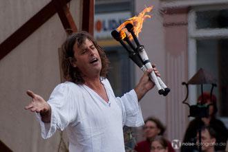 Kris Fleapit beim Mittelalterstadtfest in Bad Langensalza - 2010