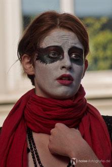 Auftritt des art der stadt e.V. beim 15. Metallgestaltertreffen - Gotha glüht 2011