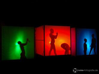 Tanzperformance des art der stadt e.v. Gotha