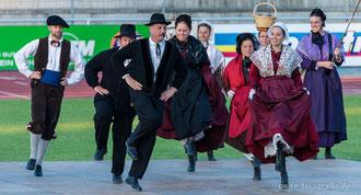 Eröffnungsveranstaltung der 50. Europeade in Gotha