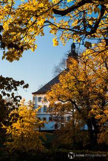 Schloss Friedenstein im Herbst