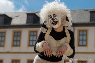 Walkact vom art der stadt e.V. beim Gothardusfest 2014