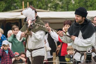 Mittelalterliches Blütenfest in Neufrankenroda 2014
