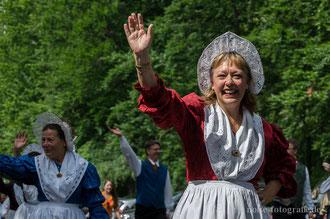 Europa-Parade - Festumzug der 50. Europeade 2013 in Gotha