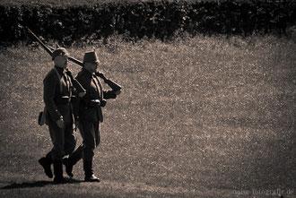 Kaisermanöver 2011 auf dem Boxberg bei Gotha