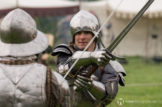 Ritterkämpfe mit Mus Rusticus beim mittelalterlichen Blütenfest in Neufrankenroda 2014