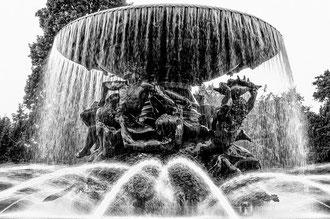 Dresden 2014 - Brunnen am Albertplatz