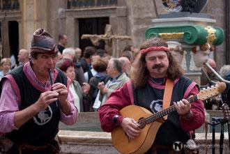 Die Rabenbrüder beim Mittelalterstadtfest in Bad Langensalza - 2010