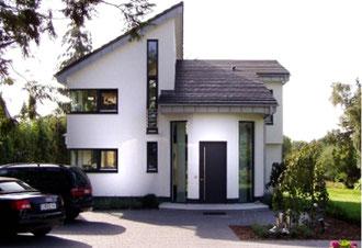 Einfamilienhaus mit Pultdach und Satteldach in Schwerte