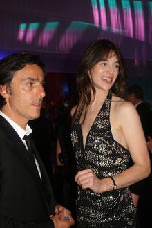 Charlotte Gainsbourg  et son mari Yvan Attal - Festival de Cannes 2009 © Anik COUBLE