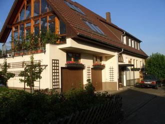 Hausansicht Familie Herbert Müller Bissingen