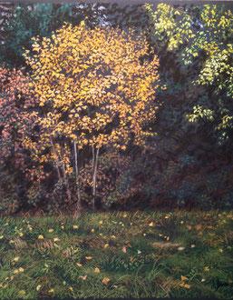 Apparition d'Automne 2 pastel 37x44cm- Sylvie Berman artiste peintre