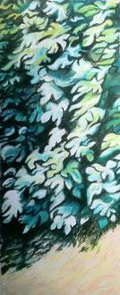 Figuier Pastel 40x65 cmSylvie Berman artiste peintre