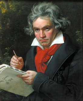 Grabado de Josef Stieler (1819); Archivo de Arte e Historia de Berlín.