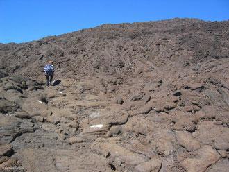 Lave pa hoe hoe, Piton de la Fournaise, Ile de la Réunion
