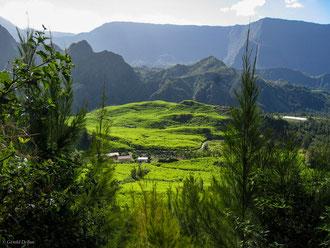 Petit-îlet du cirque de Salazie, Ile de la Réunion