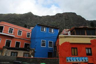 Maison colorées sur l'Ile de la Gomera Archipel des Canaries