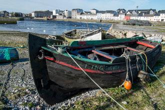 Irlande, Comté du Connemara, Galway, le port de pêche