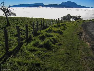 Les nuages envahissent la Plaine des Cafres, Ile de la Réunion